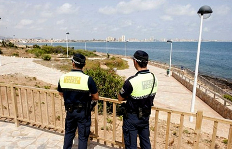 Local police patrols to return to the Mar Menor this summer