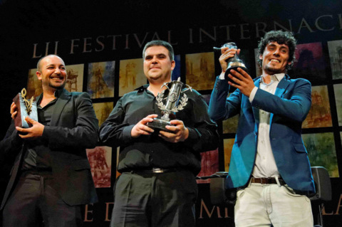 Winners of the 52nd Cante de las Minas Festival in La Unión