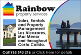 Rainbow Property Services Los Alcazares Mar Menor