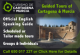 Turismo de Cartagena Y Murcia guided walks and city tours