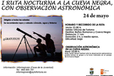 24th May, 11km nocturnal walk with astronomical observation, Fortuna