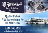 Enjoy a Menu del Día with marina view, Cabo de Palos