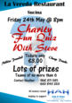 24th May Hah Charity Fun Quiz