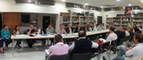 Meeting between san Javier council and La Manga representatives