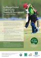 26th to 30th September, La Manga Cricket Club Twenty 20 Tournament
