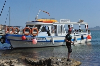 Waterbus from Los Alcázares To La Manga and Boat trips from La Manga