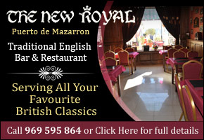 The New Royal Restaurant Puerto de Mazarroni